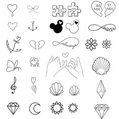 Pixel - Tattoo ideen - Tattoo World Sharpie Tattoos, Bff Tattoos, Little Tattoos, Mini Tattoos, Future Tattoos, Body Art Tattoos, Small Tattoos, Tatoos, Easy Tattoos To Draw