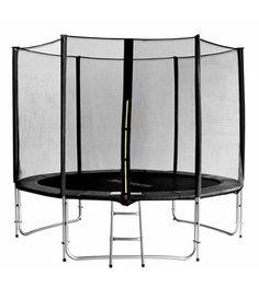 305 cm Gartentrampolin mit Leiter