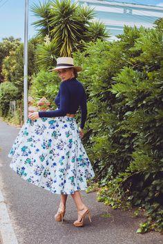 Ghimells I Flower I Power I Skirt I Fashion I Pretaporter