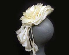 Custom Bridal hats wedding headpieces couture millinerywedding day hats bride bridal party Gena Conti Millinery MI USA