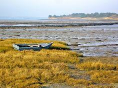 Île Tascon, dans le Golfe du Morbihan, en Bretagne