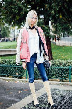 Street Style PFW/ Día 7: Vogue España waysify