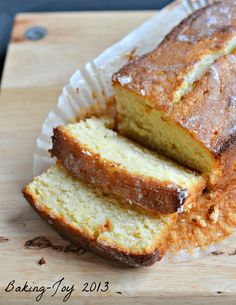 Lemon curd yogurt cake