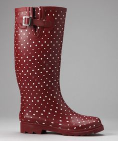 Wholesale Cheap [Shuangsui]Spring New Light Polka Dot Rain Boots ...