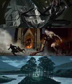 Harry Potter Film Concept Art by Adam Brockbank - Imgur