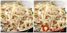hrášok so špenátom - Google Search Spaghetti, Food And Drink, Ethnic Recipes, Google Search