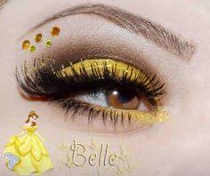 Belle Disney princess makeup