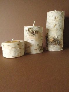 branch and twig woodland candle holder  by prettydreamer.workshop, via Flickr