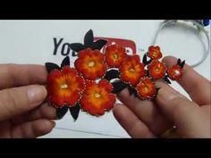Diy decorar diademas con aplicaciones y flores pequeñas, flores miniaturas