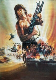 Rambo III poster, t-shirt, mouse pad 80s Movies, Action Movies, Iconic Movies, Hero Movie, Movie Tv, Rocky Sylvester Stallone, Stallone Movies, Silvester Stallone, Creed Movie