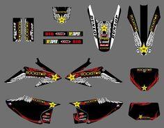 GRAPHICS BACKGROUNDS Stciker For Honda CRF150 CRF230 CRF150F CRF230F 2008 2009 2010 2011 2012 2013 2014 CRF 150 150F 230 230R #Affiliate