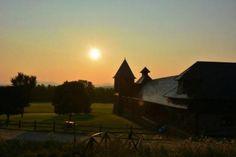 Farm Barn at Sunrise. Photo credit - Boston Neary