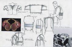Fashion Sketchbook - fashion design drawings for menswear accessories; fashion portfolio // Livia Bianda