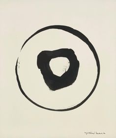 Jiro Yoshihara, 1962. Ink on paper.