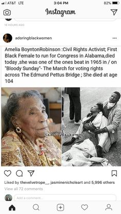 Look at History! Black History Facts, Black History Month, Photographie Indie, Women In History, Ancient History, African American History, Black Power, Black People, Just In Case