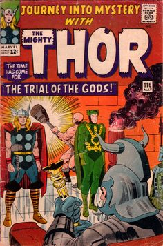 Journey into Mystery with The Mighty Thor 116 - Stan Lee and Jack Kirby