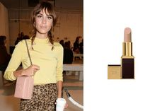 Alexa Chung and Tom Ford Beauty Lip Color in Vanilla Suede