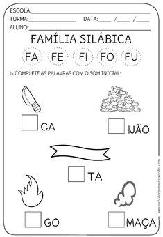 Atividade pronta - Família Silábica F