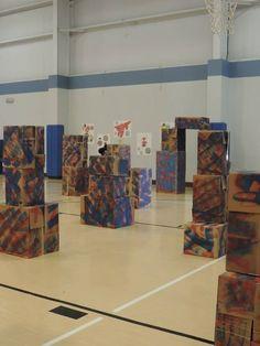 Nerf Gun Battle ground – Ideas of Nerf Gun – Nerf Gun Battle … Ninja Birthday Parties, 11th Birthday, Birthday Ideas, Nerf Party, Army Party, Lincoln Birthday, Battle Ground, Party Themes, Party Ideas