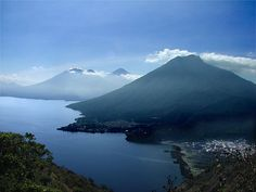 Lago Atitlan in Guatemala, I went on some amazing hikes here