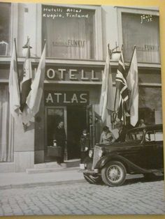 Hotel Atlas 1935, Kuopio Map Pictures, Historical Pictures, Helsinki, Ancient History, Real People, All Over The World, Vintage Photos, Maps, Nostalgia
