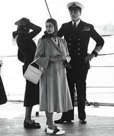 Benedict Pryce, 30, who works for the police, lives in Beckenham, Kent. He inherited his grandfather, Surgeon Lieutenant Robert Montgomery's photo album from his days in the Navy. He says: My grandfather was the dentist on HMS Liverpool from 1949-50 and he took many photos on board, including this one of Princess Elizabeth visiting with Lord Mountbatten when the ship was in Egypt. I remember him telling me how stunning and radiant she always was.