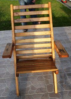 Drewniane krzesła ogrodowe 6 sztuk (2494410136) - Allegro.pl - Więcej niż aukcje. Najlepsze oferty na największej platformie handlowej. Outdoor Chairs, Outdoor Furniture, Outdoor Decor, Home Decor, Decoration Home, Room Decor, Garden Chairs, Home Interior Design, Backyard Furniture