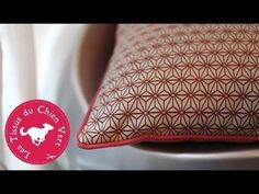 DIY - Coudre un passepoil sur un coussin - YouTube Jade Couture, Fitness Gifts, Practical Gifts, Retro Fashion, Sewing Projects, Sewing Ideas, Diy And Crafts, Crochet, Pattern