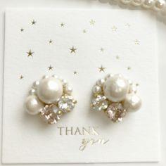 Diy Necklace, Diy Earrings, Pearl Earrings, Bride Earrings, Designer Earrings, Pearl Jewelry, Handmade Jewelry, Jewelry Design, Jewelry Making