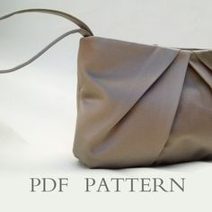 Wristlet Clutch Downloadable Sewing Pattern