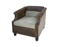 Ten fotel będzie pasował do loftu