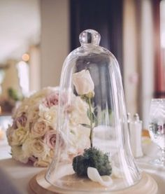 Beauty and the Beast Inspired Wedding Sweetheart Table Look by The Manic Botanic in South Jersey