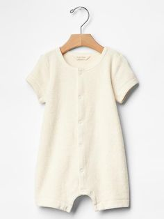 Organic terry romper Product Image