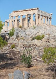 Templo dórico,s. Macedonia, Kirchen, Places Ive Been, Mount Rushmore, Mountains, Mansions, House Styles, Nature, Travel