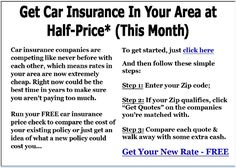 Stop overpaying for Auto Insurance in Illinois. Visit http://IllinoisCheapCarInsurance.com to get car insurance at up to Half-Price.