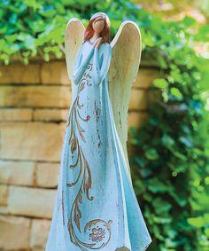 Look what I found on #zulily! Power of Prayer Angel Statue #zulilyfinds