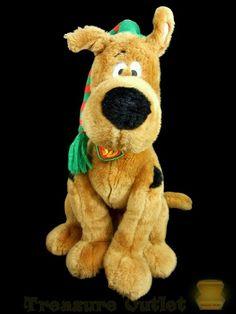 Macy's Stuffed Plush Christmas Scooby-Doo Great Dane Dog #Macys