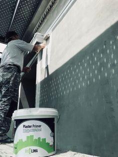 Αστάρωμα επιφάνειας με Ακρυλικό αστάρι αδιαβροχοποίησης και πρόσφυσης Plaster Primer (Kraft) για την καλύτερη πρόσφυση της τελική στρώσης σοβά. Rebuildit.gr Canning, Home Canning, Conservation
