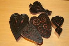 Butter Molds, Heart Images, Nordic Style, Flocking, Fiber Art, Blankets, Stencils, Stamps, Embroidery