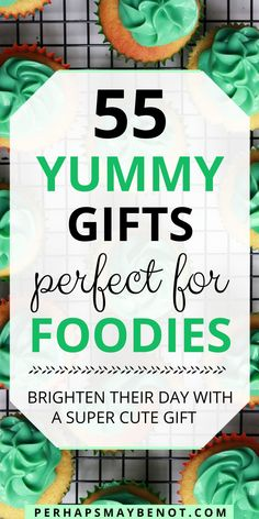 Cute and sweet, these yummy-looking gifts are guaranteed to win over all foodies. Check out this awesome collection of foodie gifts. #gifts #giftguide #foodiegifts #foodiegiftguide Cute Gifts, Diy Gifts, Gift Guide, Foodies, Super Cute, Party Ideas, Awesome, Sweet, Check