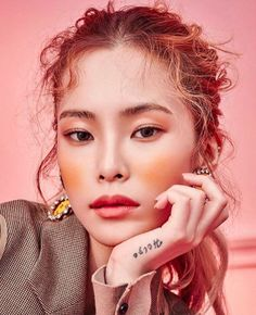 201216 heize for stylenanda k beauty, beauty make up, hair beauty, fashion beauty Makeup Inspo, Makeup Inspiration, Beauty Makeup, Eye Makeup, Hair Makeup, Hair Beauty, Pimple Scars, How To Get Rid Of Pimples, Beauty Shoot
