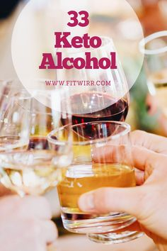 Keto Alcohol - 33 Low-Carb Alcohol Drinks to Keep You in Ketosis - Fitwirr Diet Drinks, Alcoholic Drinks, Milkshake, Keto Wine, Starbucks, Keto Shakes, Tea Eggs, Healthy Food Delivery, Smoothie Ingredients