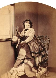 Lewis Carroll. Fine Art Photography. Reverend Thomas Childe Barker. 1864.