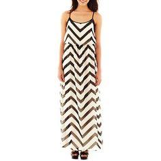 618ebd0984d7 Bisou Bisou® Chevron Print Maxi Dress - jcpenney  70.00 Chevron Dress