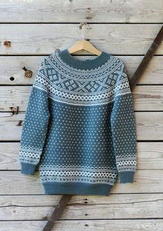 Bilderesultat for kofter til dame Knitting For Kids, Baby Knitting, Knitting Stitches, Knitting Patterns, Norwegian Knitting, Big Knits, Stocking Pattern, Fair Isle Knitting, Drops Design