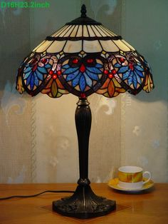 Baroque Tiffany Lamp	16S6-36T327