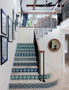 Tiled staircase - Weglarz Design More