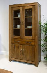 Mayan Walnut Large Glazed Bookcase http://solidwoodfurniture.co/product-details-pine-furnitures-2987-mayan-walnut-large-glazed-bookcase.html