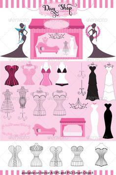 Diva Fashion and Lingerie Boutique Creation Kit