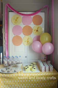 giraffe birthday party